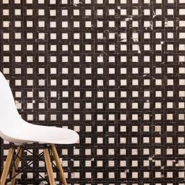 Nero Marquina & White Marble Polished MSM2 Mosaic 7.2 x 7.2 cm