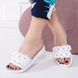 Papuci Magimo albi