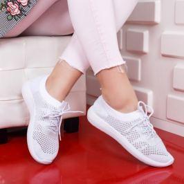 Pantofi sport Zipinei albi