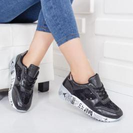 Pantofi sport Amexin negri