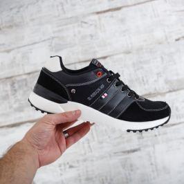 Pantofi sport barbati Chres negri