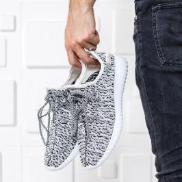 Pantofi sport barbati Solfiv albi
