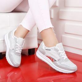 Pantofi sport Juju argintii