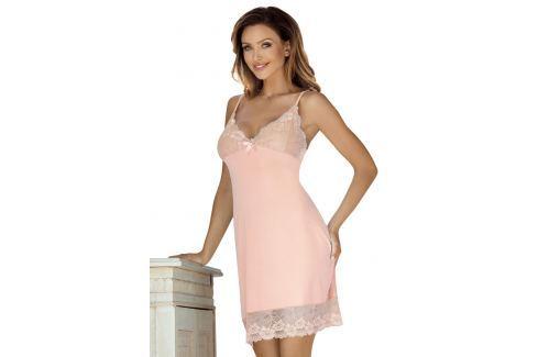 Camasa de noapte eleganta Holy, de culoarea piersicii Lenjerie pentru femei