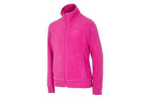 Bluza feece Pink 4F pentru fetite Lenjerie copii