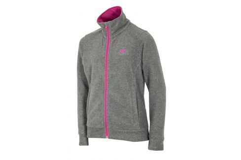Bluza fleece Grey 4F pentru fetite Lenjerie copii