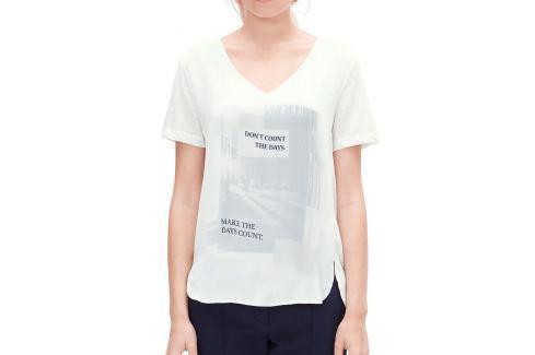 Bluza dama V1 s.Oliver, cu imprimeu OUTLET