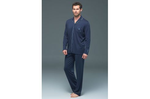 Pijama barbateasca BLACKSPADE Lion Navy, din modal OUTLET