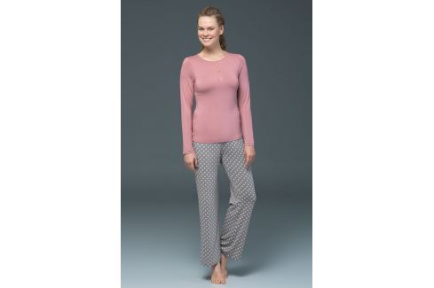 Pijama dama Rose - modal OUTLET