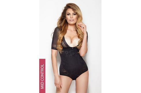 Body Glossy cu efect modelator, negru OUTLET