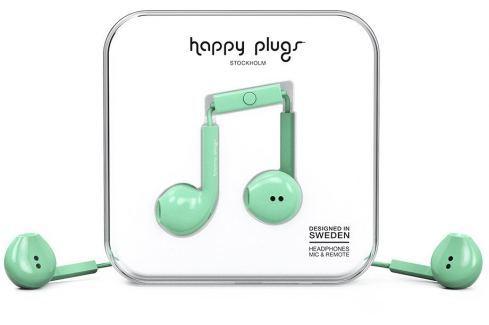 Happy Plugs Earbud Plus Mint Căști In-Ear