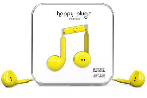 Happy Plugs Earbud Plus Yellow Căști In-Ear