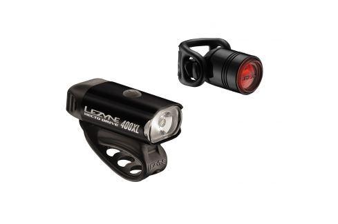 Lezyne Hecto Drive 400Xl / Femto Pair Black Lumini bicicleta