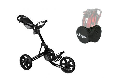 Clicgear 3.5 Plus Black/Black SET Cărucioare manuale