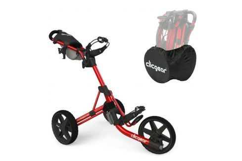 Clicgear 3.5 Plus Red/Black SET Cărucioare manuale