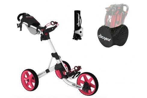 Clicgear 3.5 Plus Arctic/Pink DELUXE SET Cărucioare manuale