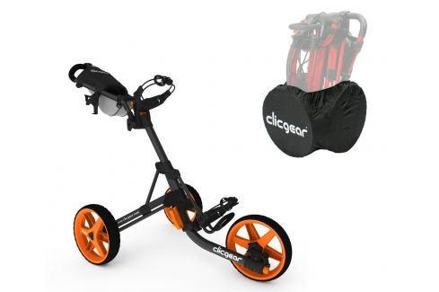Clicgear 3.5 Plus Charcoal/Orange SET Cărucioare manuale