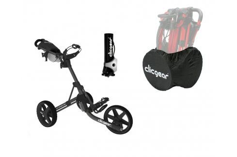 Clicgear 3.5 Plus Charcoal/Black DELUXE SET Cărucioare manuale