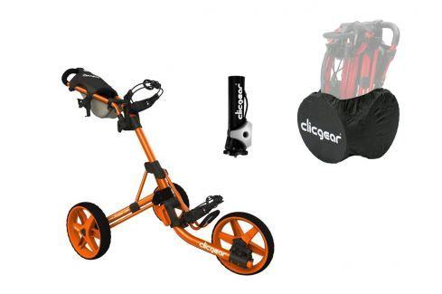 Clicgear 3.5 Plus Orange DELUXE SET Cărucioare manuale