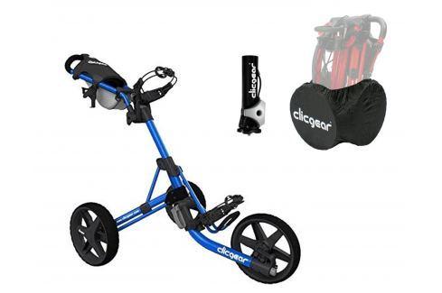 Clicgear 3.5 Plus Blue/Black DELUXE SET Cărucioare manuale