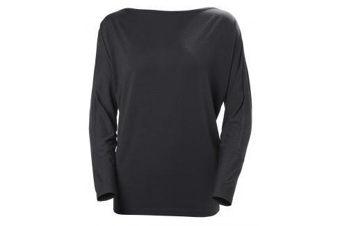 Helly Hansen W THALIA LS-SHIRT GRAPHIITE BLUE - XL BOATS/Dámske tričká / Mikiny