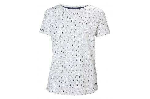 Helly Hansen W NAIAD T-SHIRT WHITE ANCHOR - S