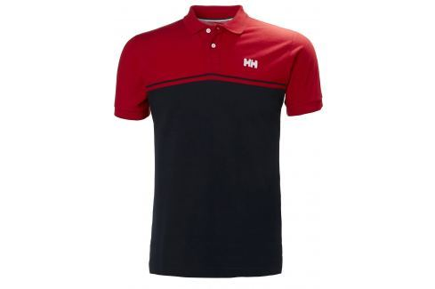 Helly Hansen SALT POLO FLAG RED - M BOATS-Tričká / Mikiny