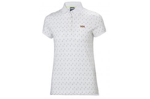Helly Hansen W NAIAD BREEZE POLO WHITE ANCHOR - XL BOATS/Dámske tričká / Mikiny