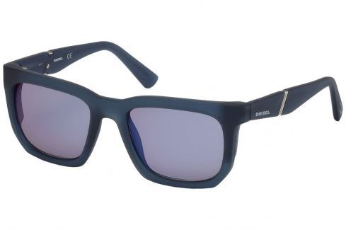 Diesel DL0254 92X 54 Blue/Other/Blu Mirror