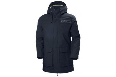 Helly Hansen CAPTAINS RAIN PARKA NAVY L BOATS-Bundy