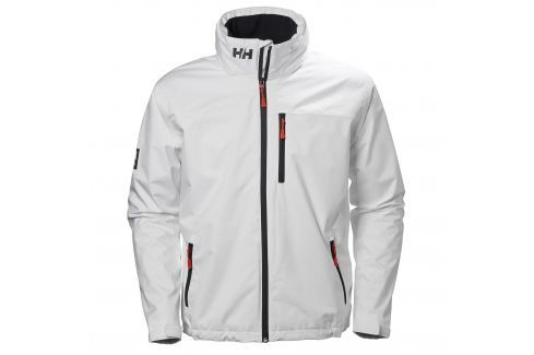 Helly Hansen CREW HOODED MIDLAYER JACKET WHITE - M BOATS-Bundy