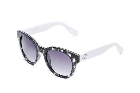 Guess GF6030 55B52 Grey Havana With Crystal/Smoke Gradi Golf-Ochelari de soare