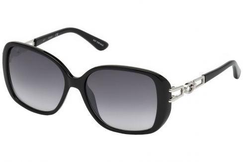 Guess GU7563 01B59 Shiny Black /Gradient Smoke Golf-Ochelari de soare