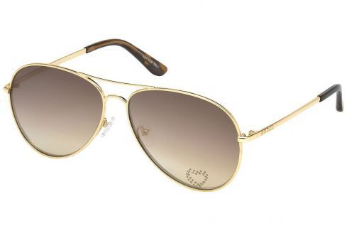 Guess GU7575-S 32F 62 Gold/Gradient Brown Golf-Ochelari de soare