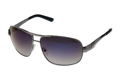 Guess GF5021 08X65 Shiny Gunmetal/Blue Flash Lens Golf-Ochelari de soare