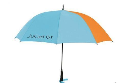Jucad Umbrella with Pin Blue/Orange with JuCad GT Logo Umbrele