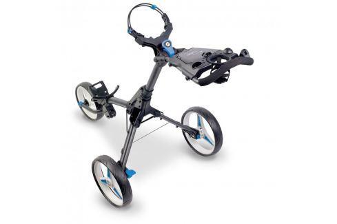 Motocaddy Cube Connect Push Trolley Blue Cărucioare manuale