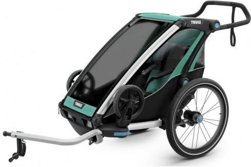 Thule Chariot Lite Blue Grass/Black Bike Trailers
