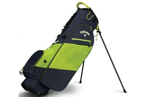 Callaway Hyper Lite Zero Stand Bag Titanium/Neon Yellow/White 2018 Huse pentru stative