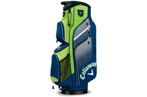 Callaway Chev Org Cart Bag Navy/Green/Silver 2018