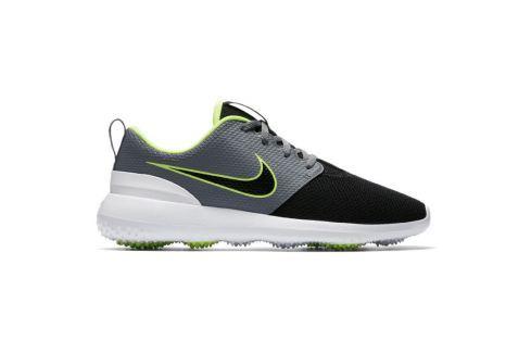 Nike ROSHE G Cool Grey/Black/Volt US 8.5 GOLF/Pánske golfové topánky