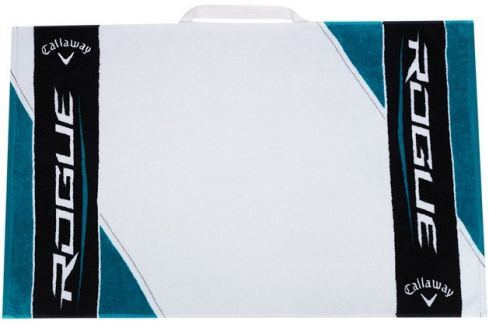 Callaway Rogue 30x20 Golf Towel - Black/White