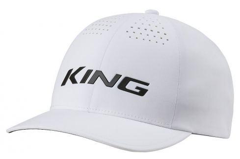 Cobra King Delta Flexfit Cap White S/M Caschete