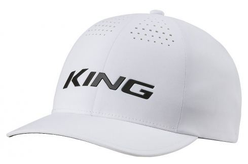 Cobra King Delta Flexfit Cap White L/XL Caschete
