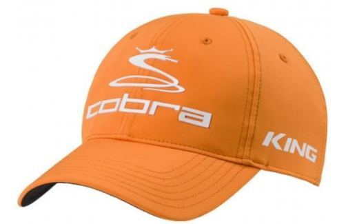 Cobra Pro Tour Cap Vibrant Orange L/XL Caschete