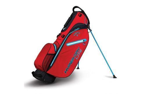 Callaway Hyper Dry Lite Cart Bag Red/Black/Neon Blue 2018 Huse pentru cărucioare