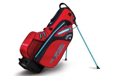 Callaway Hyper Dry Fusion Stand Bag Red/Black/Neon Blue 2018 Huse pentru stative