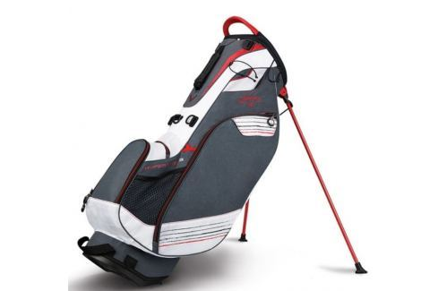 Callaway Hyper Lite 3 Carry Stand Bag Titanium/White/Red 2018 Huse pentru stative