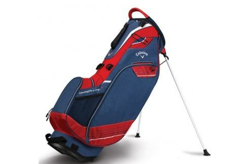 Callaway Hyper Lite 3 Carry Stand Bag Navy/Red/White 2018 Huse pentru stative