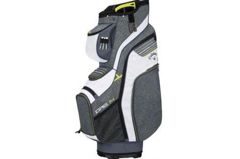 Callaway Org 14-Way Titanium Cart Bag White/Neon/Yellow 2018 Huse pentru cărucioare